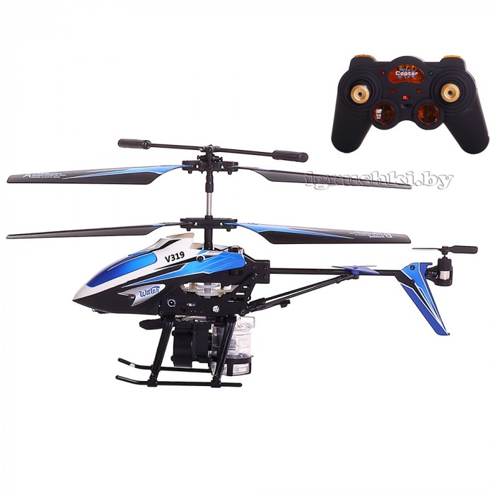 Вертолет WLtoys V319 Spray Helicopter