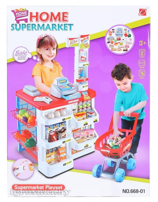 5dc80e4d6 Игровой набор Супермаркет 668-01 - купить, цена, фото | Интернет ...