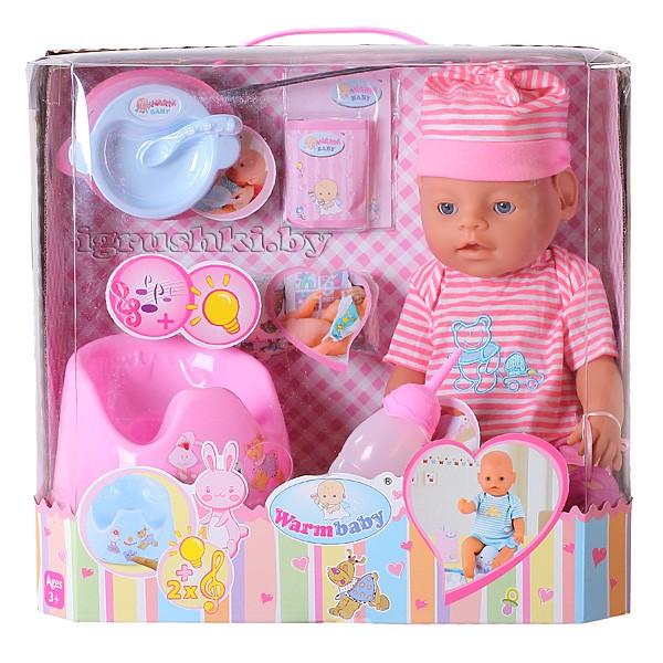 Кукла warm baby 05062 - фото, цена, описание в интернет-магазине детских товаров igrushkiby